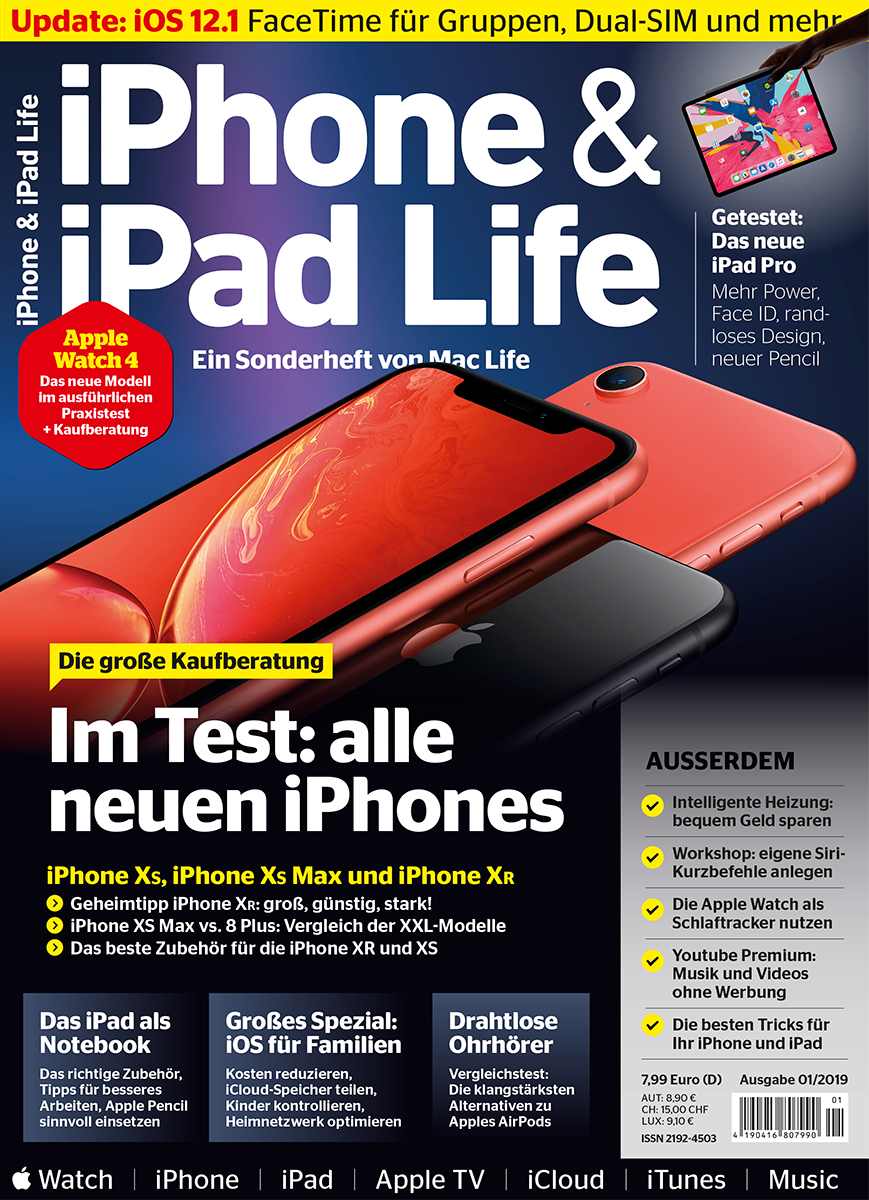 iPhone & iPad Life 01/2019