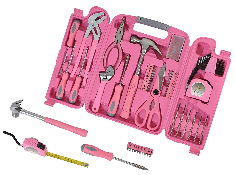 149-tlg. Werkzeugset pink