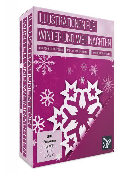 Über 100 Illustrationen für Winter und Weihnachten