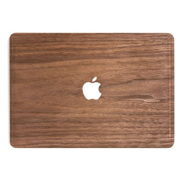 EcoSkin - Macbook Real Wood Cover - Walnuss