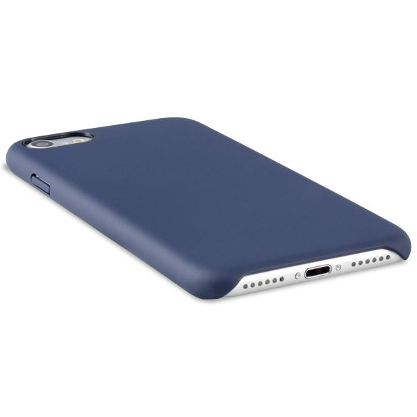 Premium Silikon Case für iPhone 7 Blau