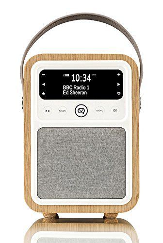 Monty Radio w/Bluetooth, Oak
