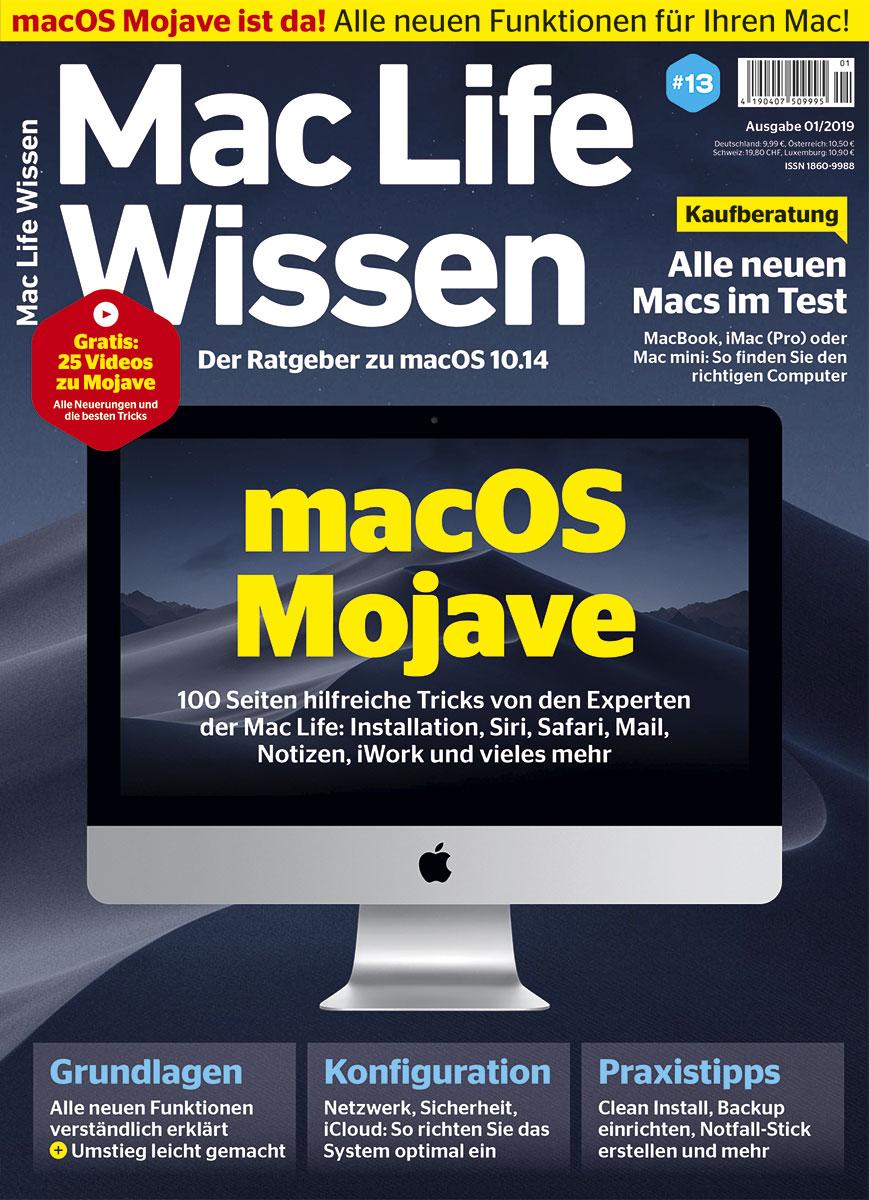 Mac Life Wissen 01/2019