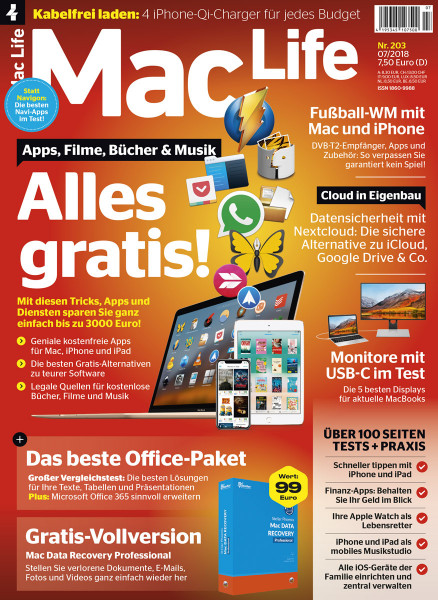 Mac Life 07/2018 Cover