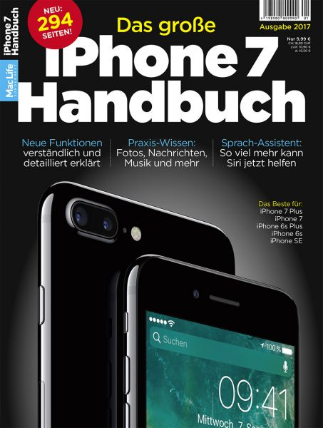 Das große iPhone 7 Handbuch 01/2017