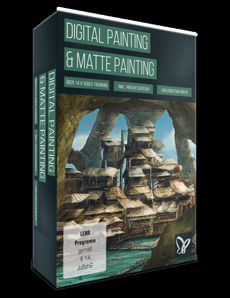 Digital Painting und Matte Painting-Video-Training