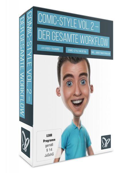 Comic-Style Vol. 2 - Der komplette Workflow